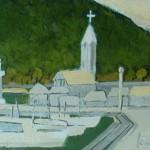 白い教会 F6  2012